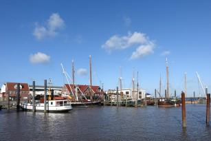Ruhiger Winterhafen